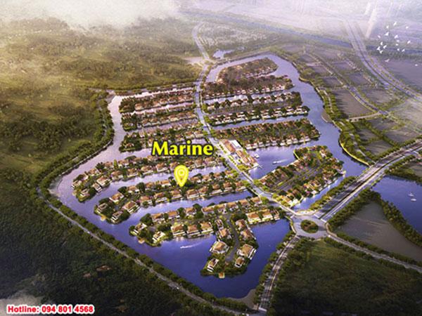 Mặt bằng biệt thự đảo Ecopark Grand Island – Marine