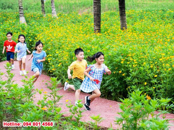 Cùng khám phá công viên mùa xuân Ecopark