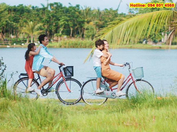 """Cùng gia đình """"đổi gió"""" dịp cuối tuần tại Khu đô thị Ecopark"""