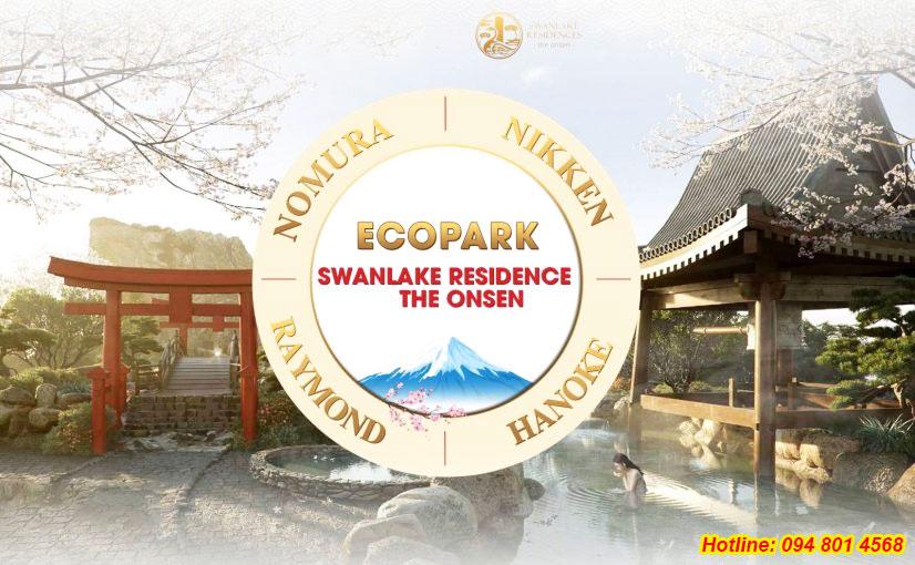 Những đối tác tầm cỡ của Ecopark trong dự án Swan Lake Onsen