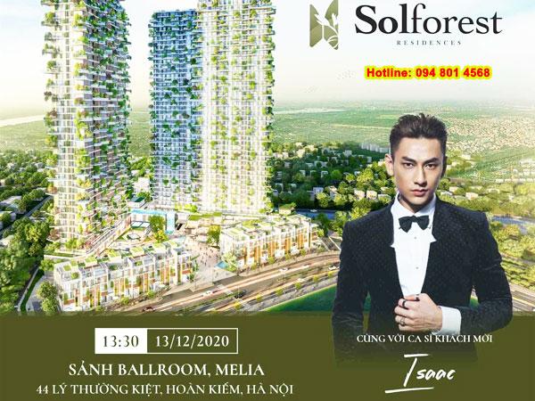 """Mua căn hộ SolForest có cơ hội bốc thăm trúng thưởng """"cực lớn"""""""