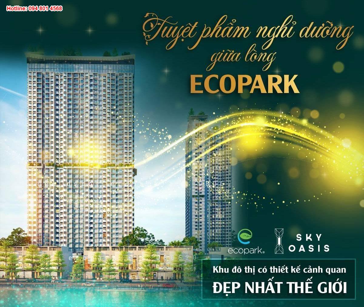 S3 Sky Oasis Ecopark - Tiềm năng lớn tại khu vực kinh tế trọng điểm phía Bắc