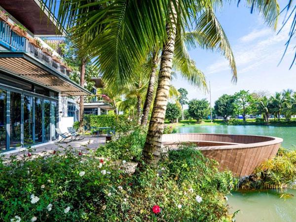 Dịch vụ tiện ích biệt thự đảo Island Villa